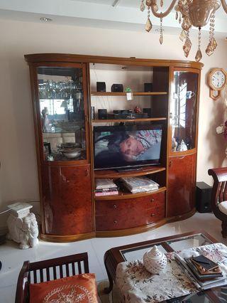 TV console set