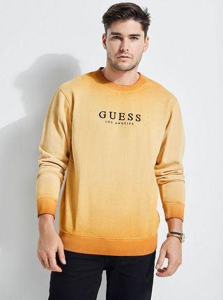 Guess Original Sweatshirt 大學T 焦糖色 撞色