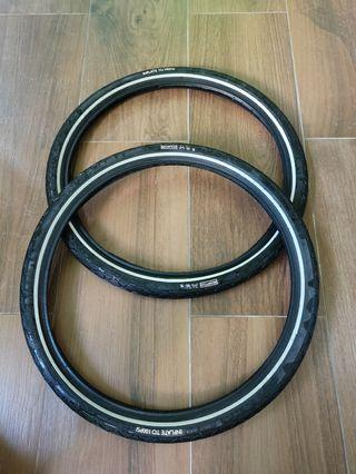 Brompton stock tires