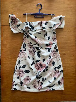 MGP Off Shoulder Floral Dress