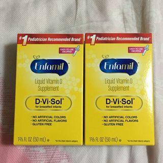 美贊臣 維他命D  補充劑 Enfamil Liquid Vitamin D Supplement 50ml