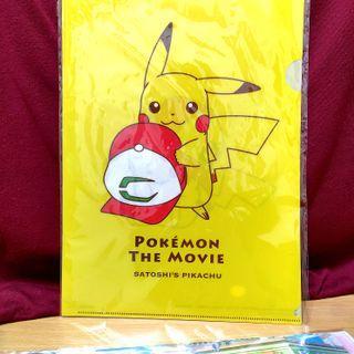 日本購入 寶可夢 資料夾 正版 POKEMON NINTENDO 文件 皮卡丘