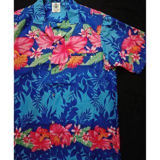 Vintage Aloha Shirt  美式古著 夏日復古風 涼感夏威夷襯衫 花襯衫 HAWAII Shirt