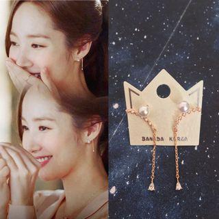 Pearl earrings 珍珠耳環