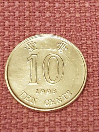 錯體香港壹毫(1998年)