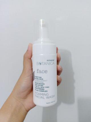 Mineral Botanica Foaming Facial Wash