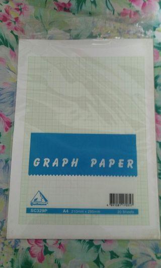 Graph Paper 16張 + 原稿紙9張