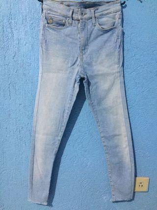 Hw jeans/pants