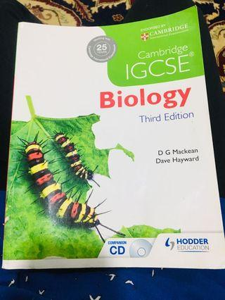 IGCSE Biology Coursebook
