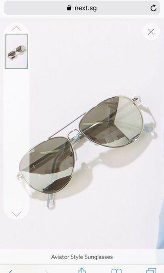 🚚 #EndGameYourAccess Silver Aviator Sunglasses 7 to 10 yo