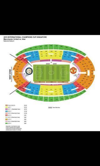 Wtb ICC tickets x 4 (field, cat1, cat2)