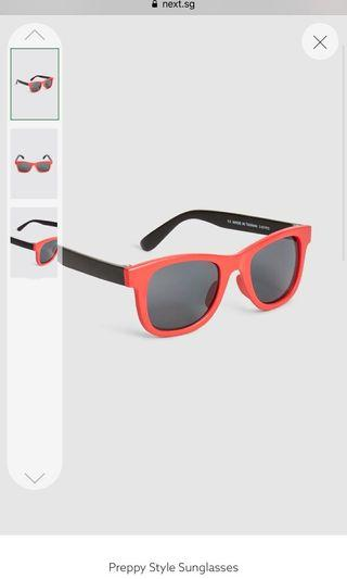 🚚 #EndGameYourAccess Red and black sunglasses 4 to 6 yo