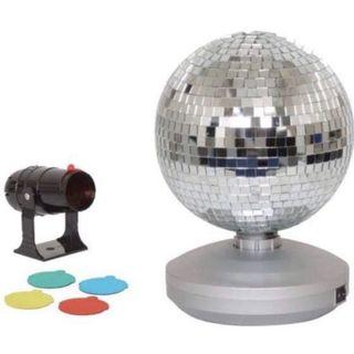 GREAT FOR PARTIES !! Free Standing Mirror Ball
