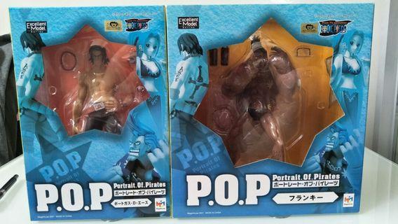 Ace/franky POP one piece figurines