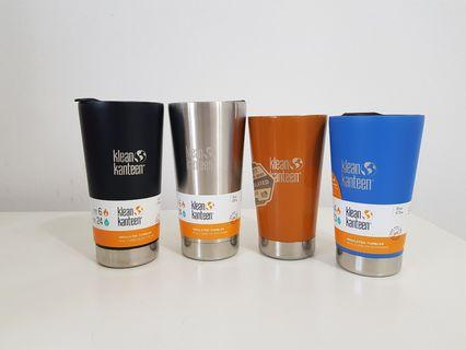Klean Kanteen insulated tumblers