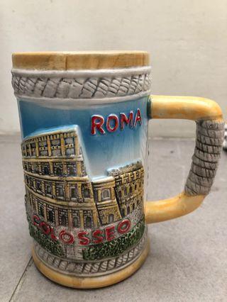 Beer Mug from Rome, Italy