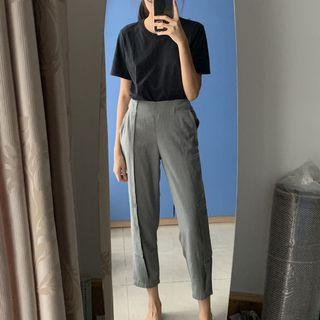 Grey Relaxed Pants