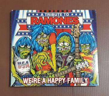 CD Ramones - A Tribute To Ramones We're A Happy Family ( USA PRESS DIGIPAK )
