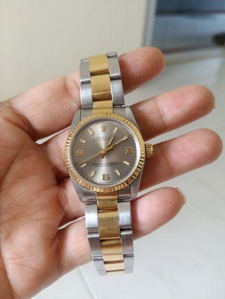 Watch Rolex 18 k gold bracelet no box / Certificate