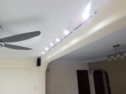 LED Track Light, ceiling light, wall light