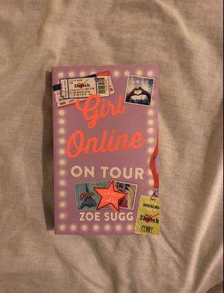 Zoe Sugg/Zoella girl online on tour book