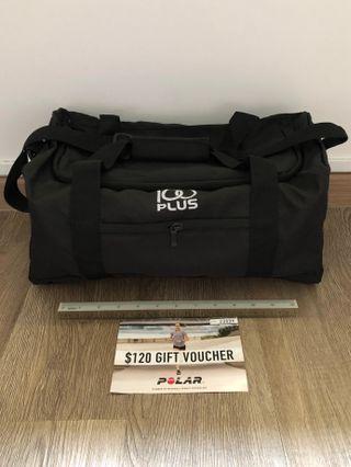 100Plus Sport Duffel Bag + Polar $120 Gift Voucher