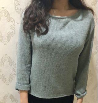 ZARA Dark Turquoise Sweater