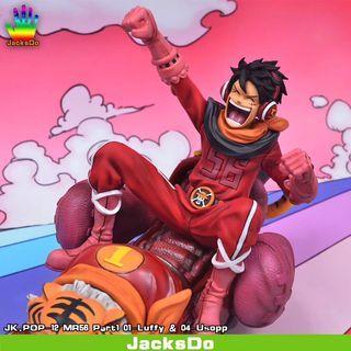 Luffy & Usopp - Mugiwara Germa 56