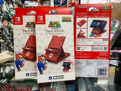 NS SWITCH  主機直立架「SUPER MARIO」 NS PLAY STAND 「SUPER MARIO」馬利奧