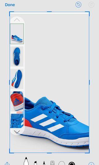 🚚 #EndGameYourAccess Adidas Trainers blue