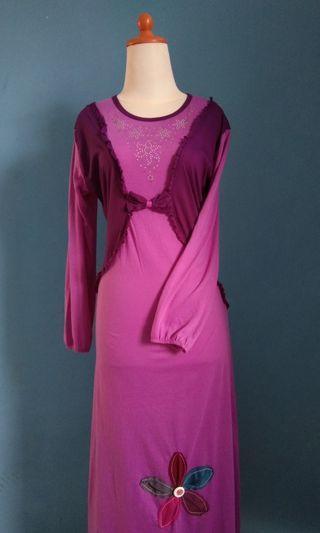 Gamis/dress muslim/baju ngaji