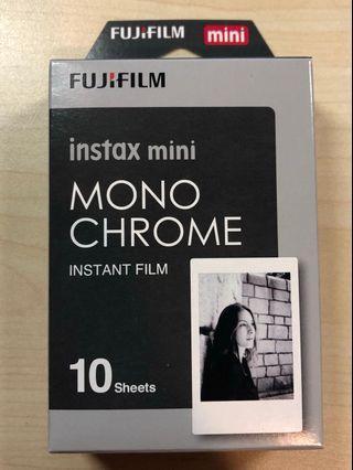 Monochrome instax mini [expired] film for 7 8 9 25 50 55 70 90