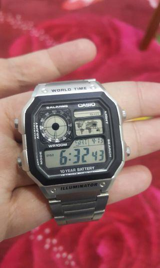 Casio Analog-Digital watch