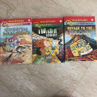 🚚 3 Magic school bus chapter books