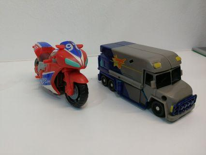 Transformers movie rollbar and reverb