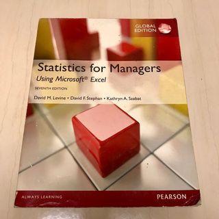 🚚 Statistic for managers 統計學原文 #企管系用書 #我要賣課本