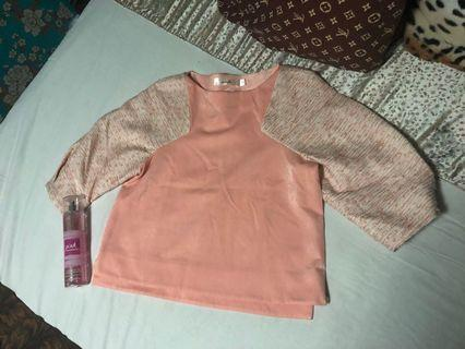 Tweed chanel inspired top small-medium
