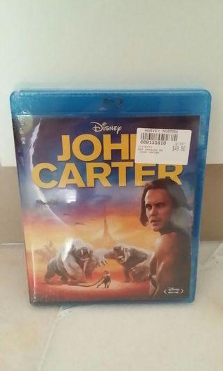 Original Blue-ray Disney John Carter