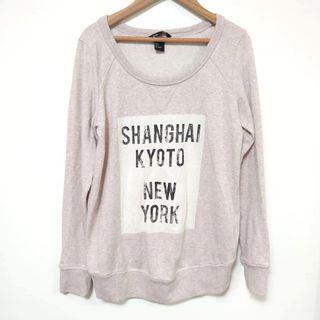 🚚 H&M 女長袖棉質上衣