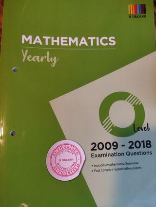 🚚 O Level Mathematics Yearly 2009-18