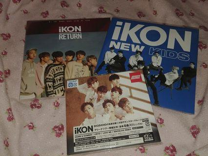 iKON JAPAN CD SET