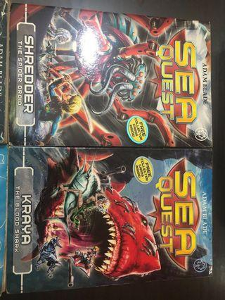 Sea quest and beast quest #Endgameyourexcess