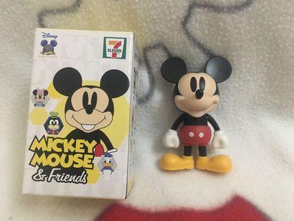 迪士尼 Disney 米奇大變身! 米術珍藏匙扣公仔 (7-ELEVEN X MICKEY MOUSE)