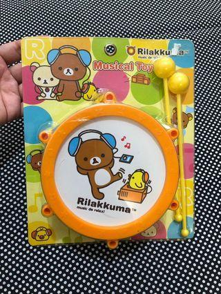 鬆弛熊打鼓玩具 rilakkuma drum toy musical