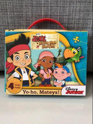 Jake and the Neverland Pirates books for children