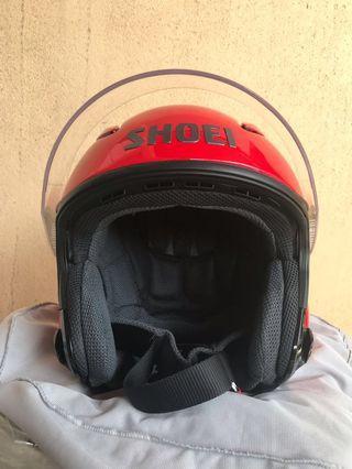 Shoei J-Stream Red Shine