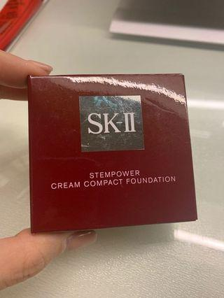 SKII stempower cream compact foundation refill