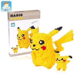 NEW Pikachu Magic Block 29cm Height