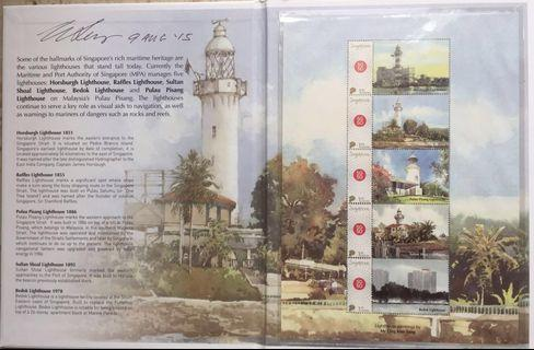 Ong Kim Seng lighthouse series Signed copy