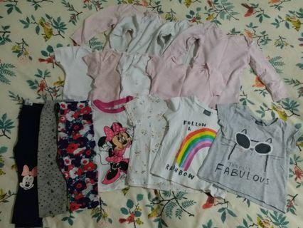 Little girls' clothing bundle